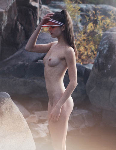 alyssia mcgoogan nude shoot by attilio d agostino for p magazine feb 2015