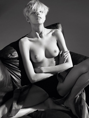 anja rubik topless editorial and outtakes for doingbird magazine march 2008 by lachlan bailey