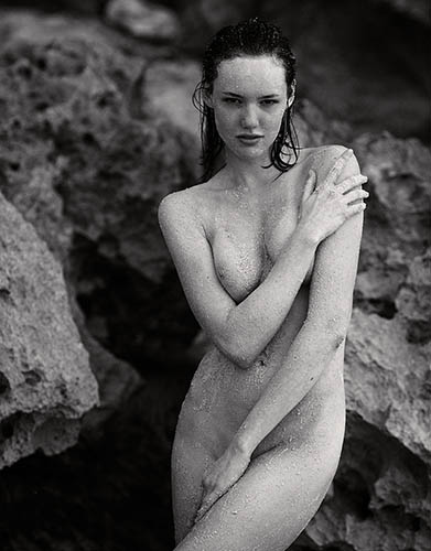 anya lyagoshina nude beach at tulum mexico by jurij treskow
