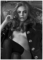 Cara Delevingne - Interview Magazine April 2013 by Peter Lindbergh Photo Shoot