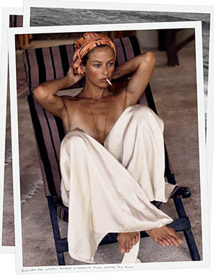 carolyn murphy nude photoshoot secret hideaway pour interview mars 2016