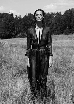 daria werbowy nude shooting for interview sept 2014
