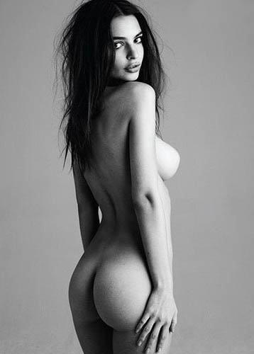 emily ratajkowski black and white nudes for treats magazine 3
