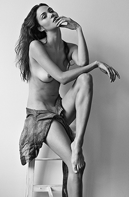 game of thrones prostitute ollie kram goes naked for sexy black and white yume magazine shoot